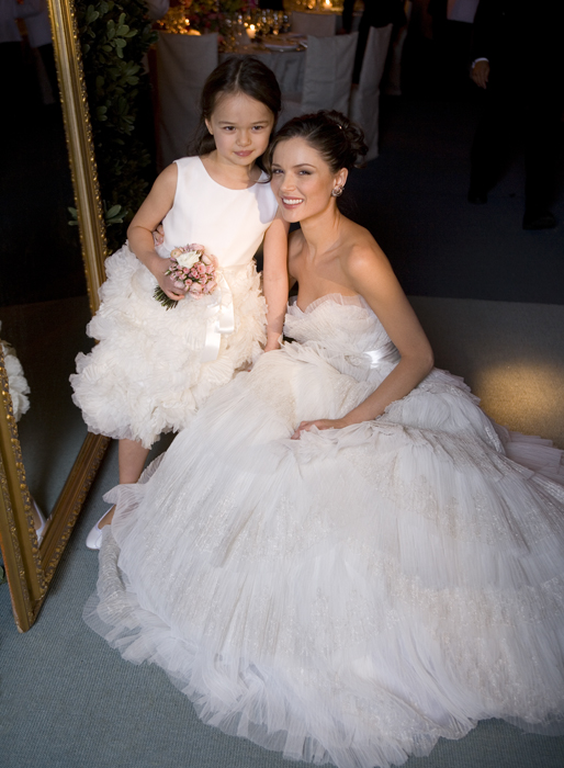 Georgina Chapman's wedding