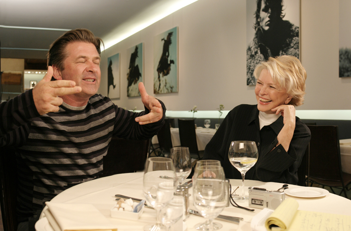 Alec Baldwin and Ellen Burstyn
