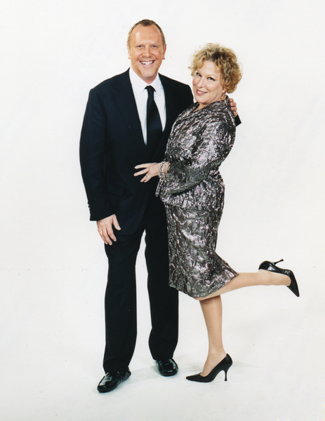 Michael Kors and Bette Midler