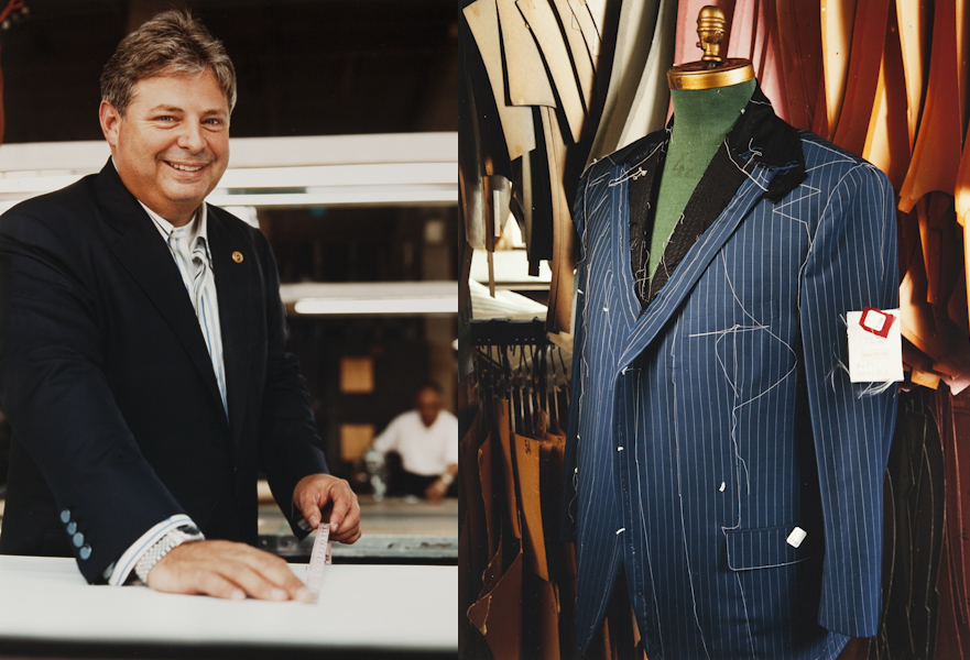 Brooklyn suitmaker and tailor Jay Greenfield