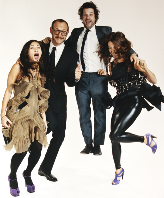 Terry Richardson and Crew