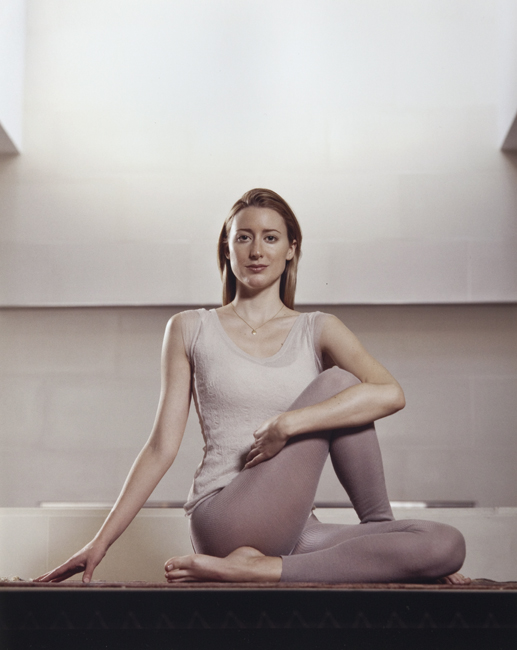 Anna Wintour's yogic daughter